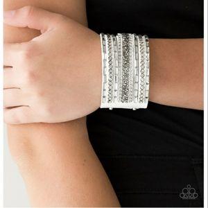Rhinestone Rumble Bracelet